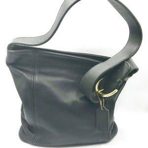 Authentic COACH Vintage Leather Bucket Handbag